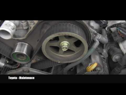 Toyota How To Inspect Timing Belt