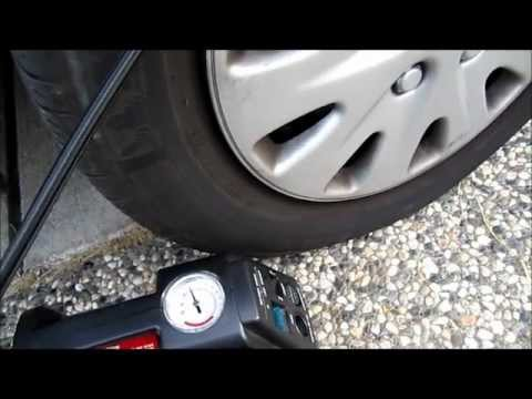 How to use an air compressor to maintaining tire pressure to saves $$$$