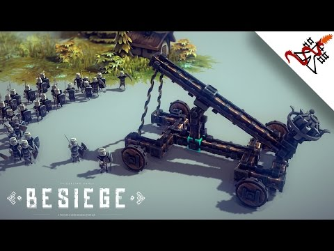 Besiege - How to make a Catapult