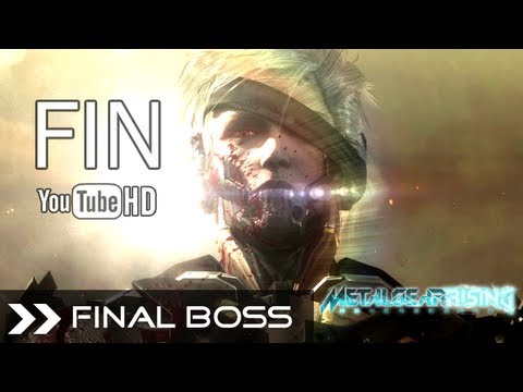 Metal Gear Rising Revengeance Ending - Raiden VS Senator Armstrong Final Boss Battle