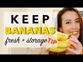 Best Way to Keep Bananas Fresh for Longer | How to Store Bananas the Right Way