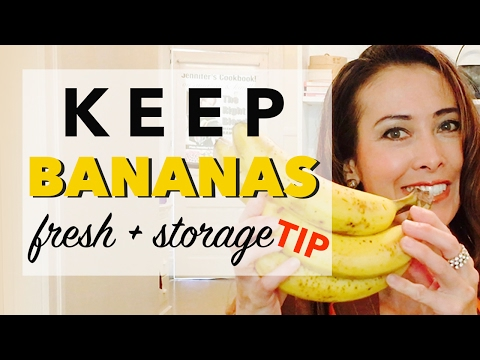 Best Way to Keep Bananas Fresh for Longer   How to Store Bananas the Right Way