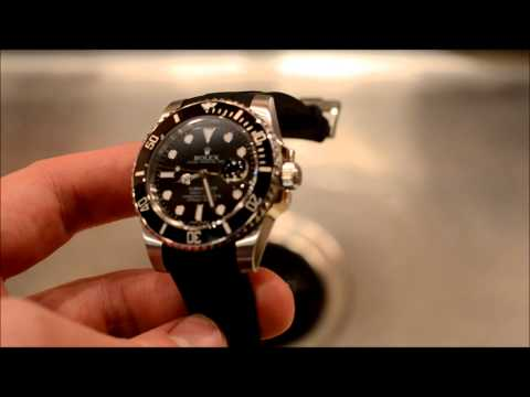 Episode 2   Cleaning a Rubber B Strap for Rolex Watches