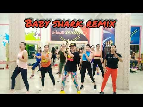 baby shark remix zumba - FunClipTV