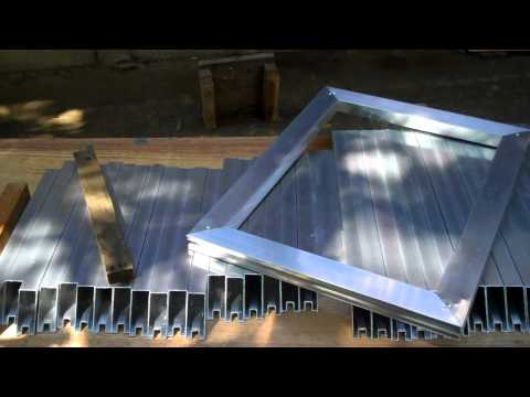 ALUMINUM FRAME (RIVETED) FOR SCREEN PRINTING-FIRST IN HISTORY