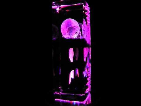 NFL Jacksonville Jaguars 3D Laser Etched Crystal - 6 Inch -