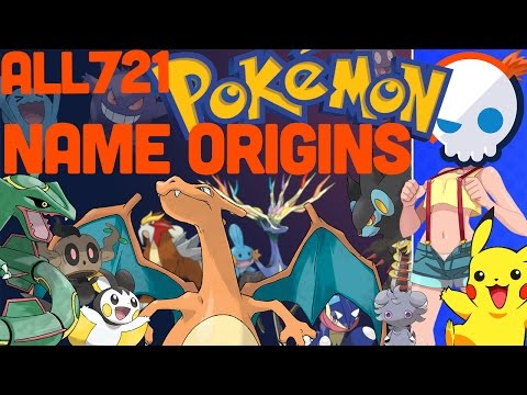 The Meaning Behind EVERY Pokemon Name | Gnoggin
