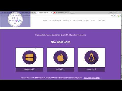► 02 - HOW TO INSTALL AND STAKING NAVCOIN CRYPTOCURRENCY? ENG #ACI69