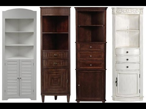 Awesome Corner Linen Cabinet Ideas