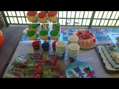 PJ Masks birthday party 🎂