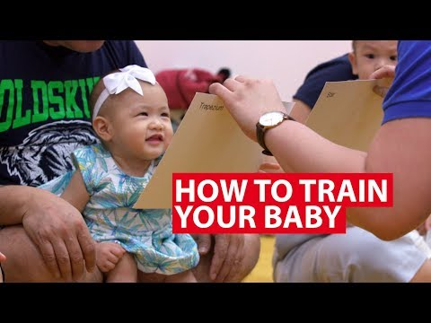 How To Train Your Baby To Be Super Smart | Super Baby | CNA Insider
