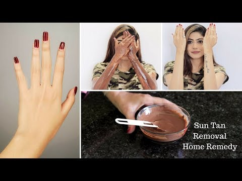REMOVE SUN TAN FROM HANDS, NECK, BACK, FACE & LEGS / Rinkal Soni