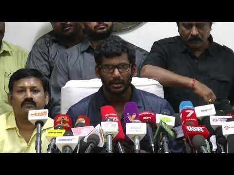Vishal on Tamil Rockers | Ticket pricing Range