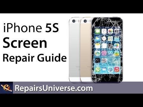 iPhone 5S Screen Repair Replacement Guide