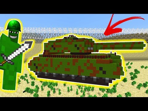 WW2 CLAY SOLDIERS RAID! (WORKING TANK!) • Minecraft Clay Soldiers Mod!