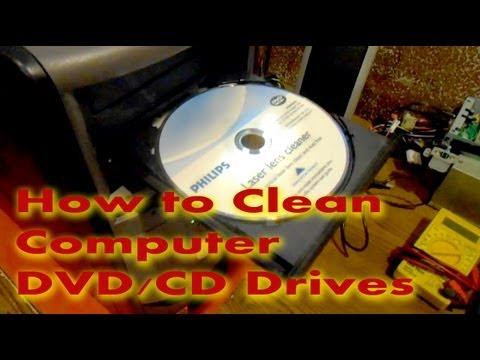How to Clean CD/DVD Laser Lens in Computer