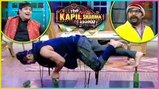 The Kapil Sharma Show : Vidyut Jammwal SCARY STUNT With Kapil Sharma Kiku Sharda