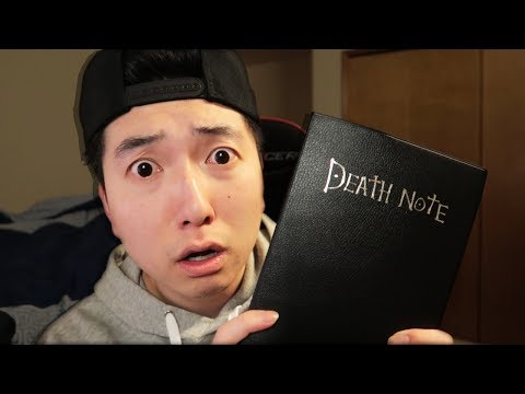 So I bought a DEATH NOTE...
