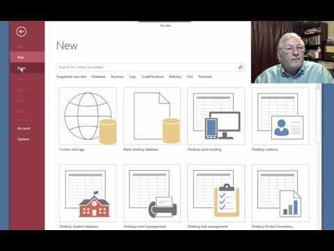 Create Menus in Microsoft Access 2013