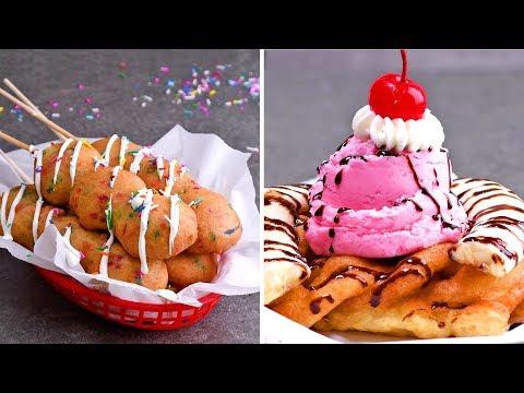 DIY Fried Dessert Ideas for a Delicious Friyay Treat | So Yummy