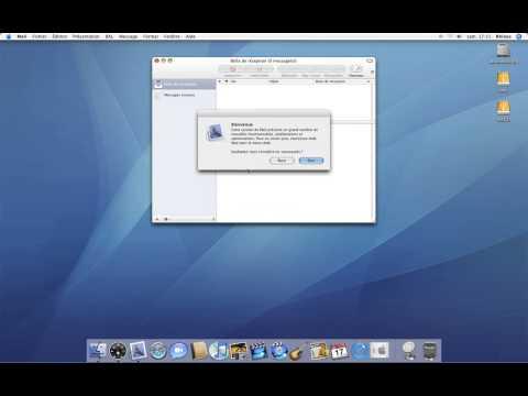10 • Première configuration de Mail • Mac OS X Tiger (tutoriel vidéo)