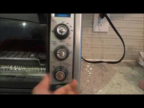 How To Use A Black And Decker Toaster Oven-FULL Tutorial