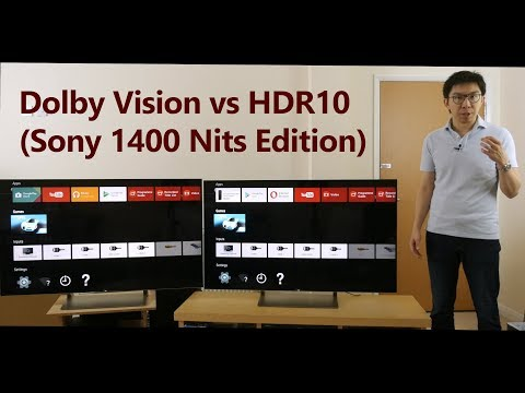 Dolby Vision Firmware Update vs HDR10 on 1400-Nit Sony HDR TV