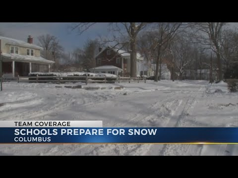 Central Ohio school districts plan ahead for closing and delay decisions