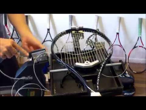 How to String a Tennis Racquet - Wilson Blade 104