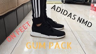 BB 3123 Cheap Adidas NMD R1 X Bedwin Collab Runners SNEAKERS Gray