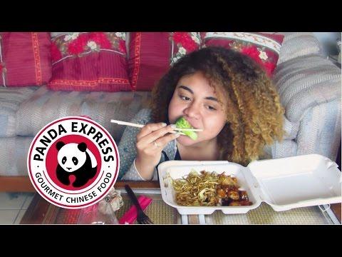 Panda Express Mukbang (Eating Show)