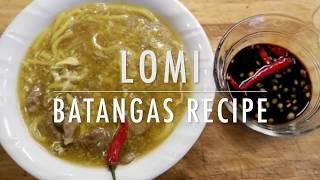 Download LOMI BATANGAS | EASY RECIPE Video