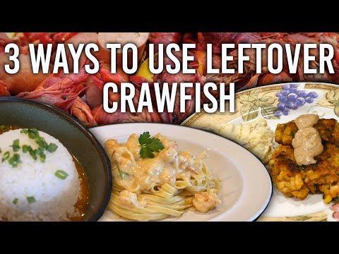 How to Use Leftover Crawfish 3 Ways