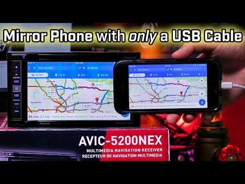 Mirror Phone To Screen! No HDMI and No USB!!!