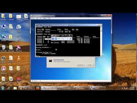 Repair Bootmgr boot file