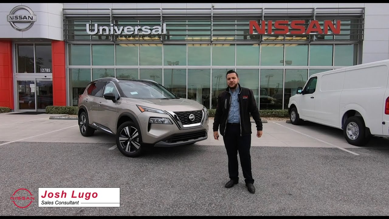 2021 Nissan Rogue SL    Car Review   Champagne Silver