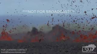 5-14-2018 Kapoho, Hi Fissure 18 lava extreme close up of lava threatening homes Kilauea volcano 4k