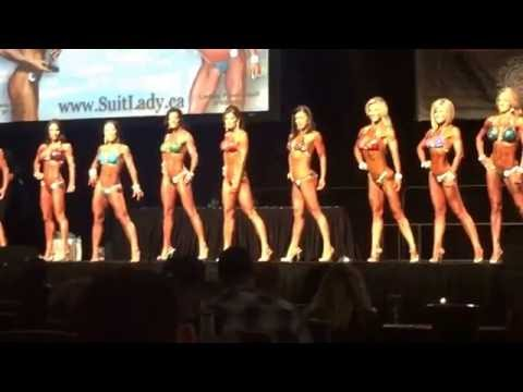 2016 Vancouver Pro/Am and Expo. 45+ Master Bikini Awards.