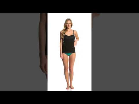 78e7954112 Next Women's Perfect Alignment Double Up Tankini Top (D-Cup) | SwimOutlet.