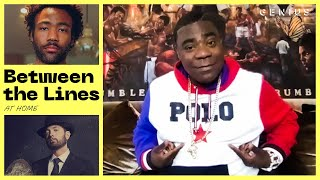 Tracy Morgan Explains Tracy Morgan Lyric References | Between The Lines