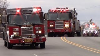 Fire Trucks Responding Compilation Part 30 - From Across New Jersey