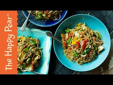 Pad Thai in 5 MINUTES! | Cheap Easy Vegan