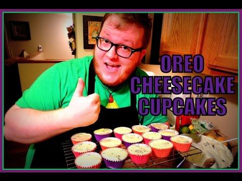 OREO CHEESECAKE CUPCAKES