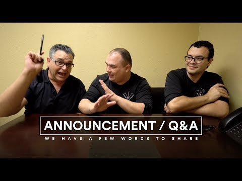 Announcement / Q and A - New Feature on SVE Channel