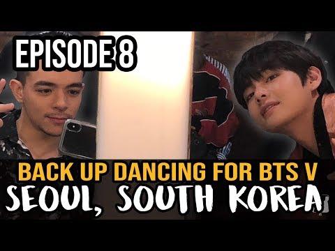 Back up Dancing for BTS member, Kim Taehyung || SEOUL, SOUTH KOREA - Dance Travel EP 8