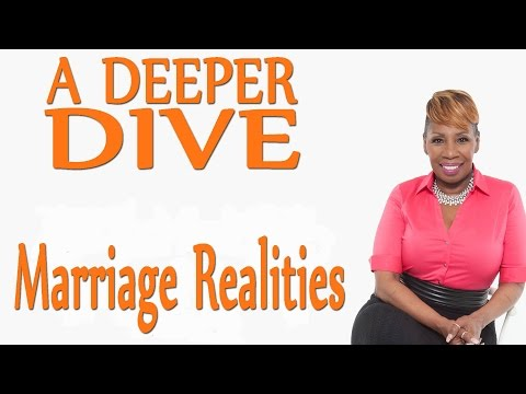 Marriage Realities - A DEEPER DIVE