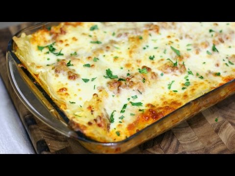 Easy Meat and Cheese Lasagna - In The Kitchen With Jonny Episode 196