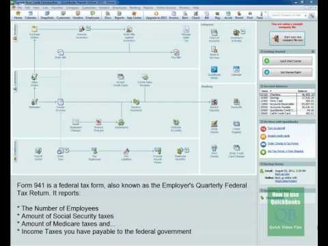 QuickBooks 941 Feature: Creates Tax Form 941 Fast - Video