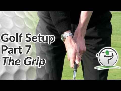 Golf Grip - Step-by-Step Guide to the Perfect Grip