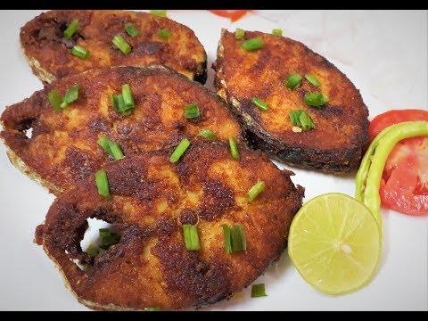 Surmai Fish Fry Recipe in Hindi